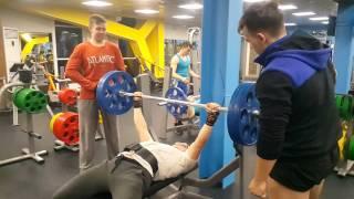 Жим лежа отработка негативной фазы вес 100 кг 24 03 2016
