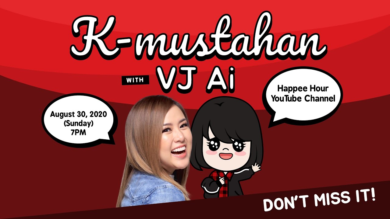K-mustahan with VJ Ai (INTERVIEW WITH KPOP ARTISTS + BEHIND THE SCENES EXCLUSIVES)
