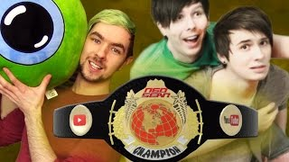 JackSepticEye vs. Danisnotonfire | WWE 2K17 Youtuber Tournament TITLE MATCH