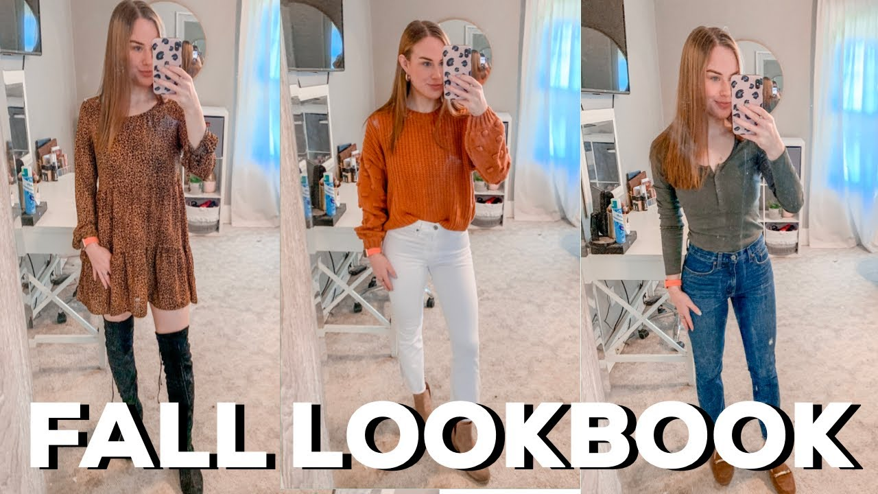 [VIDEO] - FALL LOOKBOOK: RECREATING BLOGGERS OUTFITS 1