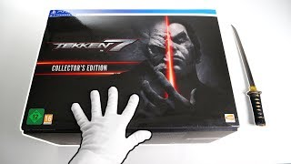 Unboxing TEKKEN 7 Collector's Edition [PS4] + HORI Arcade Stick Controller
