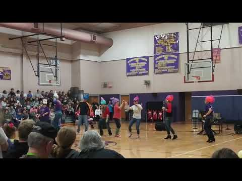Albion Grade School talent show in Albion, IL 2018
