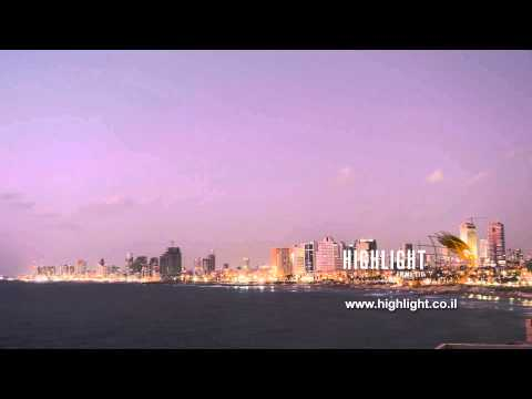 Time Lapse Clip Of Israel: Tel Aviv Day To Night