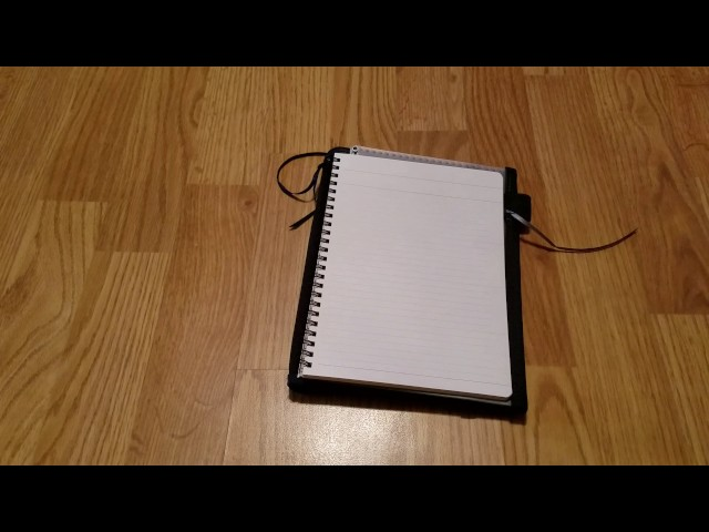 Kokuyo Systemic Notebook Compared to ZenKraft Cover