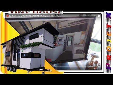Tinyhouse Minimaison Construire Sa Tiny House Ou Mini