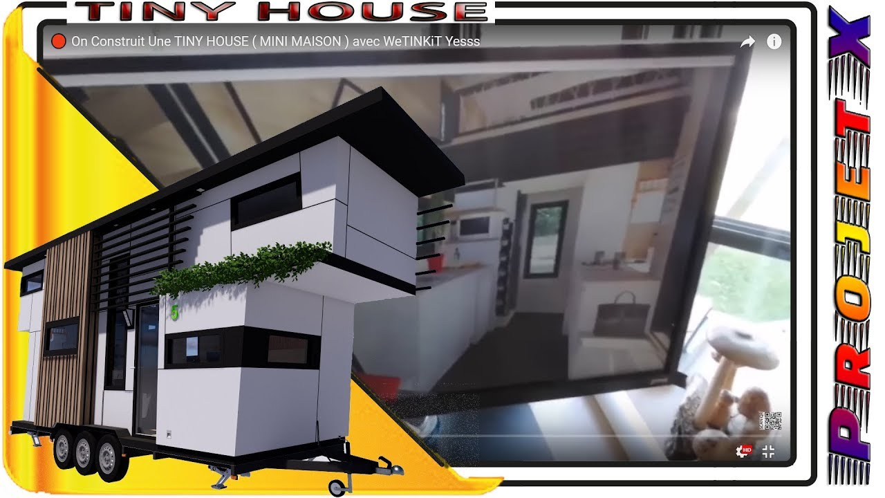 1 50 construire une tiny house mini maison avec wetinkit yesss youtube. Black Bedroom Furniture Sets. Home Design Ideas
