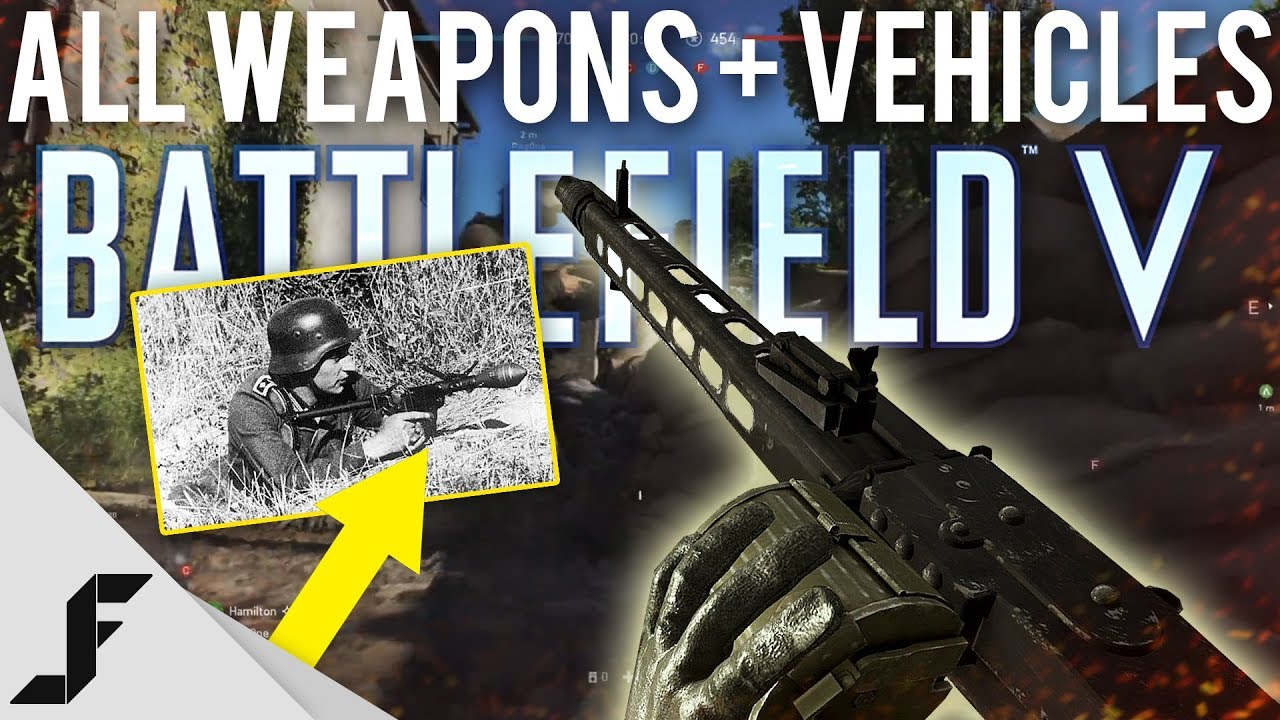 Battlefield 5 ALL Weapons, Tanks and Planes Revealed!