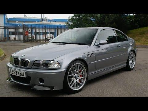 My Friend Bought A BMW M3 CSL