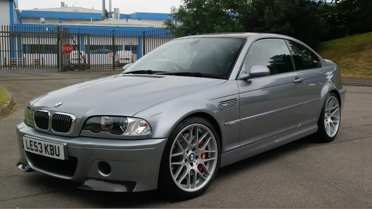 Bmw E46 M3 >> My Friend Bought A BMW M3 CSL - YouTube