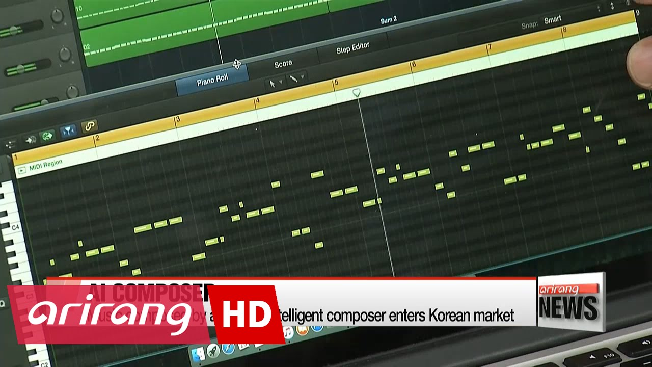 Music composed by artificially intelligent composer enters Korean market