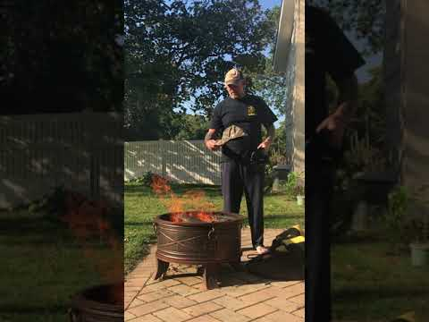 Burning My Steelers Gear