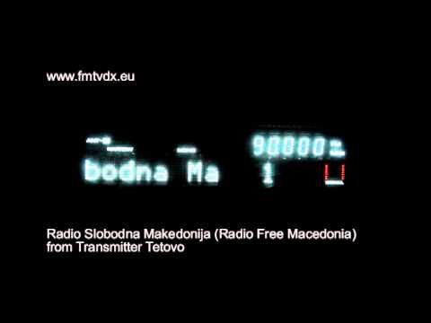 FM DX sporadic E Macedonia Radio Slobodna 90.0 MHz