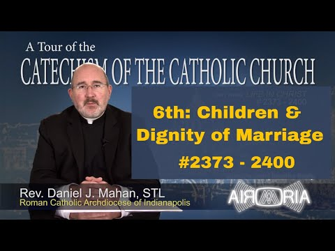 6th Commandment - Children & Dignity of Marriage - Tour of the Catechism #90