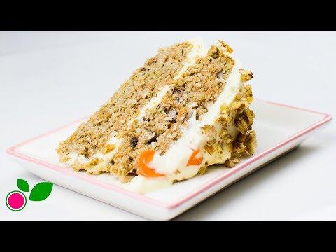 🥕🍰 Pastel de Zanahoria con Frosting de Jengibre | Yo +Green