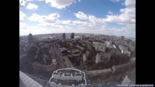 Путевые Заметки в Time Lapse: КИЕВ с 33 этажа - ОТ ЗАКАТА ДО РАССВЕТА ( Kyiv - From Dusk till Dawn )