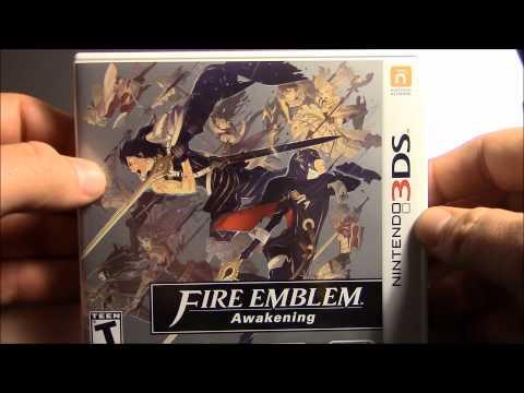 Unboxing Fire Emblem:Awakening 3DS en Español