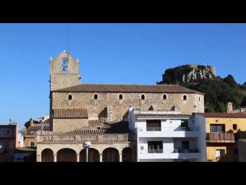 Travel Guide Medieval Town & Castle of Begur Costa Brava, Spain