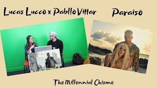 Lucas Lucco e Pabllo Vittar   Paraíso Music Video Reaction   The Millennial Chisme