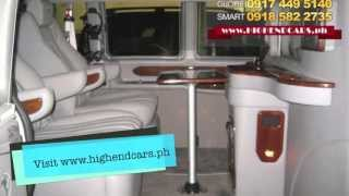 2013 GMC SAVANA LIMOUSINE VIP WITH DIVIDER PHILIPPINES WWW.HIGHENDCARS.PH