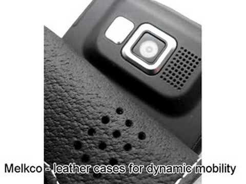 Melkco Tasche Leder Etui cuir ~Samsung SGH-i600 - Flip Type (Black)