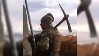 Neymiş Terorist Gelcekmiş? - Nöbet Tutan Trakyalı Asker Küfürlü