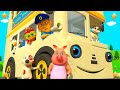 White Wheels On The Bus | 3d Kindergarten Nursery Rhyme Song | Baby Songs By Little Treehouse video