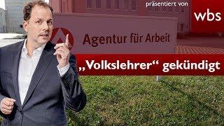 YouTube-Hetzer der Volkslehrer gekündigt | Rechtsanwalt Christian Solmecke