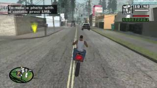 GTA San Andreas - Walkthrough - Mission #28 - Badlands (HD)