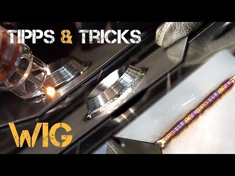 WIG Tipps Und Tricks - Edelstahl Dünnbleche Schweißen!   HDB Schweiß Shop