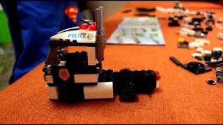 Детский конструктор Грузовик Трейлер часть 1
