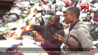OBRONI WAA WU FACTORY (USED CLOTHS) UK BIRMINGHAM