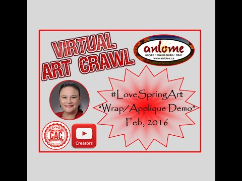 """#LoveSpringArt """"Wrapping Paper"""