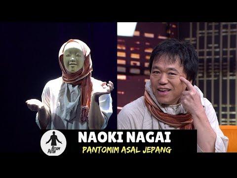 NAOKI NAGAI, PANTOMIM ASAL JEPANG | HITAM PUTIH (19/01/18) 3-4