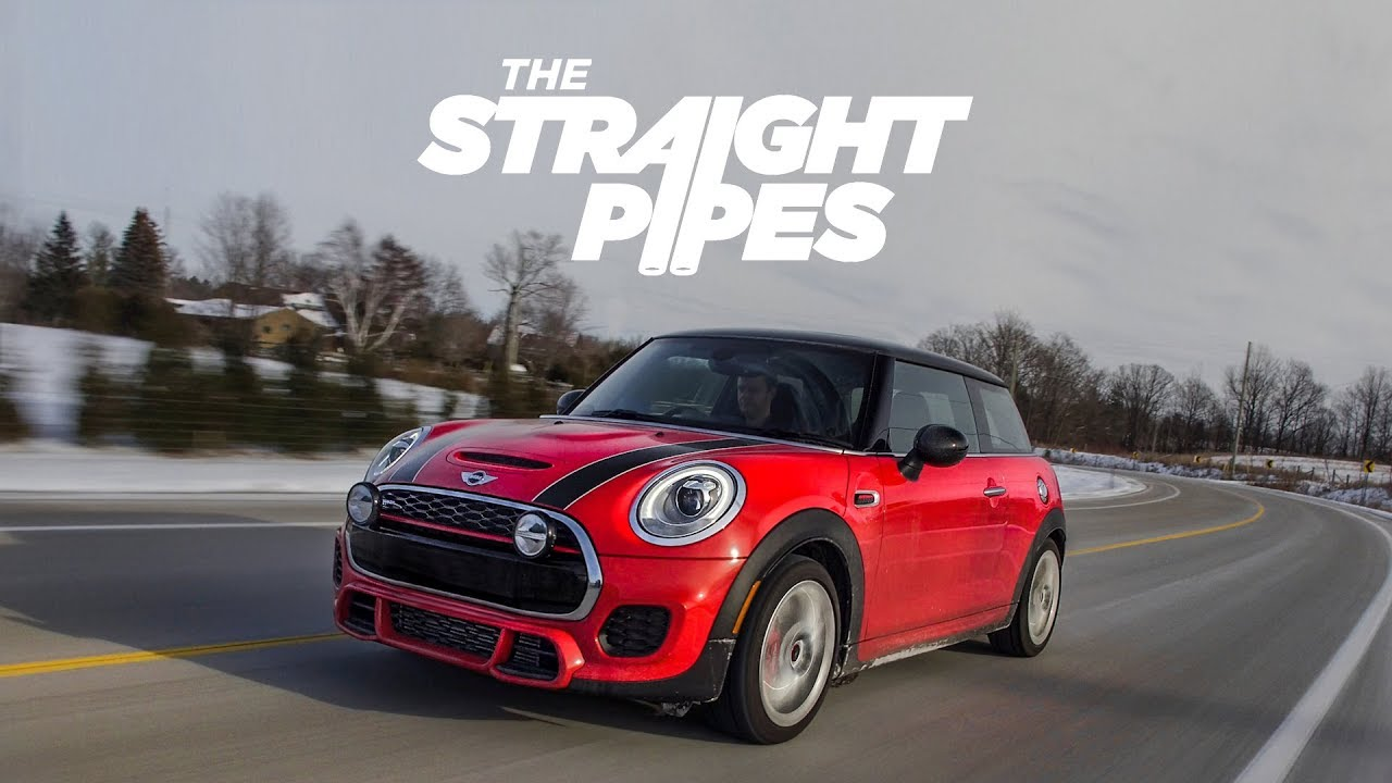 mini cooper john cooper works review - best exhaust ever? - youtube