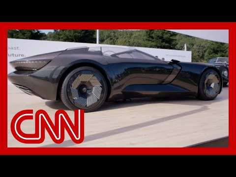 See how Audi's shape-shifting concept car works