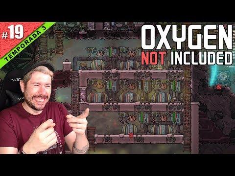 MEGA GENERADORES DE GAS NATURAL!   OXYGEN NOT INCLUDED T3 #19   Gameplay español
