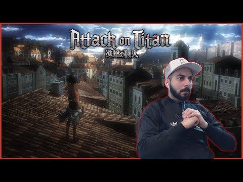 "Attack on Titan REACTION! Episode 5 - ""First Battle"" Defense of Trost Part 1 - Shingeki no Kyojin"