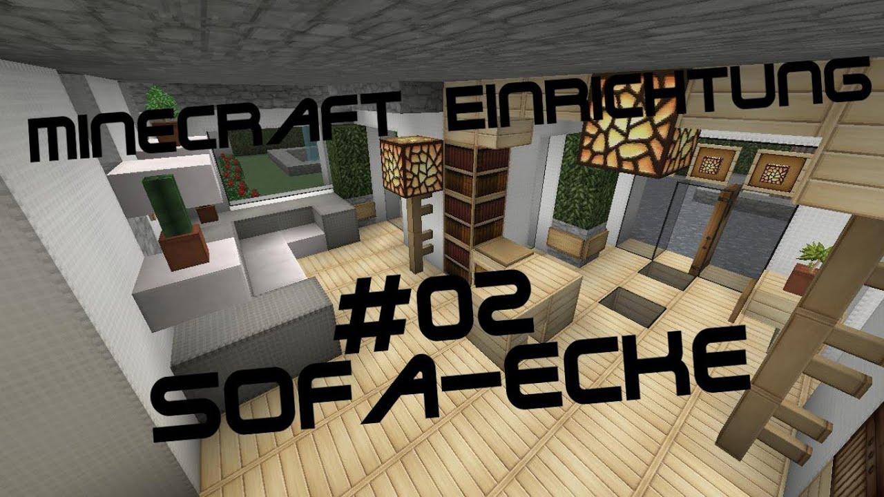 Minecraft einrichtung mit jannis gerzen 02 sofa ecke for Minecraft modernes haus jannis gerzen