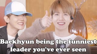 Baekhyun being the funniest leader you've ever seen