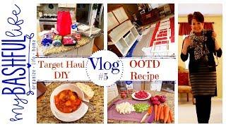 Vlog  Target Haul  OOTD  DIY  Recipe