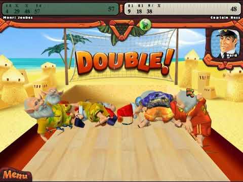 Elf Bowling: Hawaiian Vacation Match Against HARD CPU