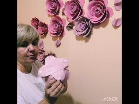 Как крепятся мои цветы к стене!