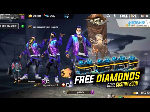 Free Fire Live Free Diamonds Kill With LOUD Volume JBond007 And LevelUp To 68