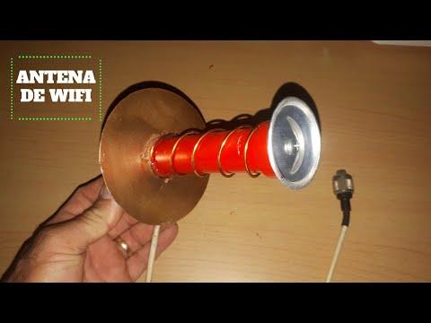 Antena de wifi de largo alcance 10 km casera🚀Ultra Potente 💯%