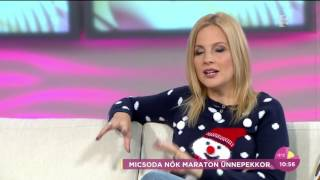 Várkonyi Andrea: ˝Jó, ha az ember nincs korlátok közé szorítva˝ - tv2.hu/fem3cafe