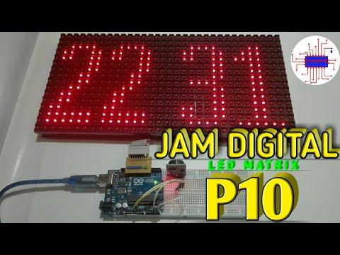 Arduino project - Jam digital P10 - fahrudin afif