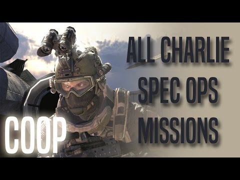 Special Ops - Charlie Missions COOP - 3 Stars - MW2
