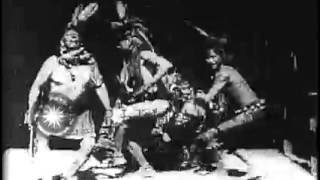 Buffalo Dance performed by Native American Indians, September 24, 1894.
