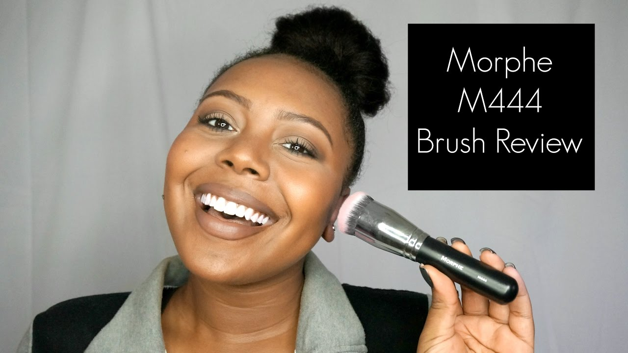 morphe m444. first impressions: morphe m444 brush h