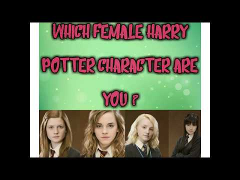 Which Female Harry Potter Character Are You?|| Multi Talented ||